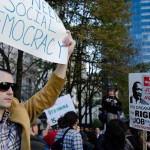 Protesters at 'Occupy Philadelphia' (Photo by Ted Lieverman)
