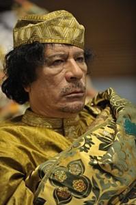 Slain Libyan leader Muammar Gaddafi