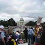Tea Party activists in Washington