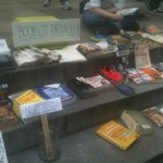 Damaged books from the People's Library recovered after raid on Zuccotti Park