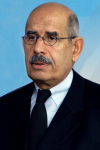 Former IAEA Director General Mohamed ElBaradei