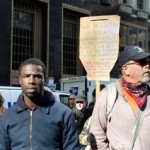 Protesters at Occupy Philly (Photo by Ted Lieverman)