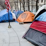 Scene from Occupy Phillie (Photo by Ted Lieverman)