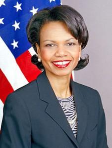 Ex-Secretary of State Condoleezza Rice