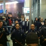 Police confront students and faculty at CUNY