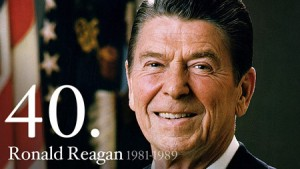 Ronald Reagan, 40th U.S. President