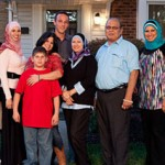 """One of the families featured on """"All-American Muslim"""""""