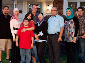 "One of the families featured on TLC's 2011 series, ""All-American Muslim"""