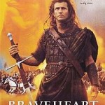 "Poster of Mel Gibson's movie, ""Braveheart"""