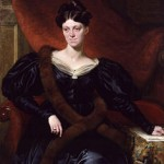 Portrait of author Harriet Martineau