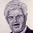 Former House Speaker Newt Gingrich (Art work by Robbie Conal, robbieconal.com)