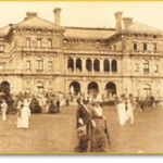 A Gilded Age party at the Breakers in Newport, Rhode Island, in 1909