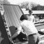 President Jimmy Carter's solar panels being installed