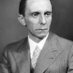 Nazi propaganda minister Joseph Goebbels