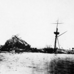 USS Maine, which exploded and sank in Havana Harbor in 1898, touched off the Spanish-American War