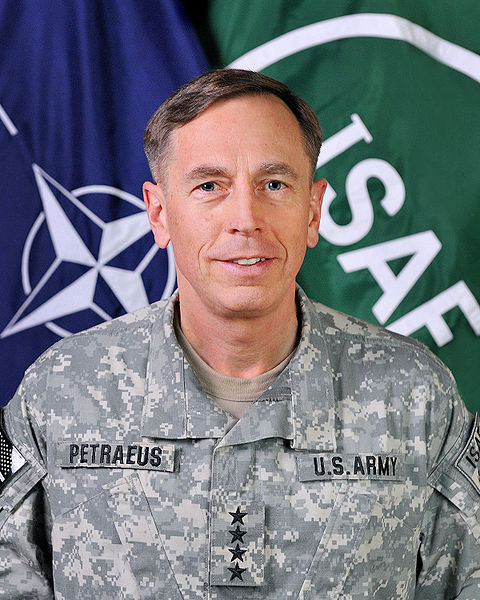 Gen. David Petraeus, as commander of allied forces in Afghanistan in 2010.