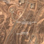 Satellite photo of Parchin military base taken on Aug. 13, 2004, and displayed at the Web site of  the Institute for Science and International Security, which has pushed allegations against Iran.