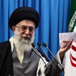 Iran's Supreme Leader Khamenei responding to Western threats on Feb. 3, 2012