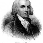 James Madison in an engraving