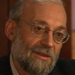 Mohammad Javad Larijani, a senior aide to Iran's supreme leader Ayatollah Ali Khamenei, discussing Israel's alleged role in murder of Iranian scientists. (Credit: NBC's RockCenter)