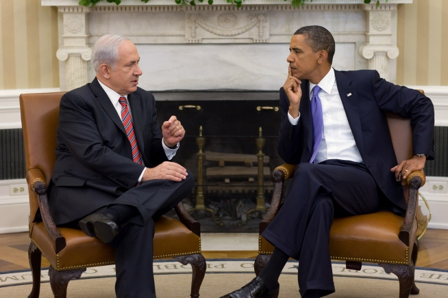 Israeli Prime Minister Benjamin Netanyahu meeting with President Obama on Sept. 1, 2010. (White House photo by Pete Souza)