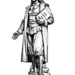 Statue of Roger Williams by Franklin Simmons