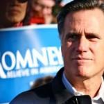 Republican presidential contender Mitt Romney