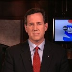 "Republican presidential contender Rick Santorum on ABC's ""This Week"""