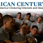 Banner for Mitt Romney's foreign policy white paper, An American Century