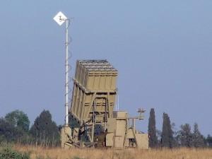 'Iron Dome' anti-missile site near Sderot, Israel. (Photo credit: Natan Flayer)