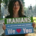 An Israeli who  joined a public campaign in 2012 to discourage an Israeli war against Iran.