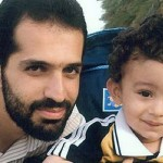 Assassinated Iranian scientist Mostafa Ahmad Roshan and his son (Credit: Press TV)