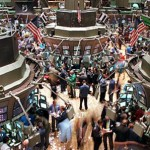 The floor of the New York Stock Exchange