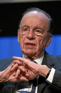 Media magnate Rupert Murdoch, one of the billionaire. (Photo credit: World Economic Forum)