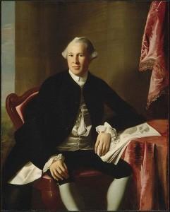 Portrait of Dr. Joseph Warren by John Singleton Copley