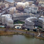 The Watergate complex in Washington, D.C., where the Democratic National Committee had its headquarters in 1972.
