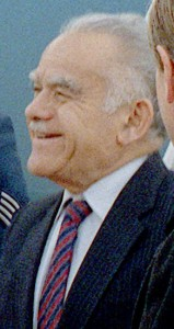 Israeli Prime Minister Yitzhak Shamir, who fought as a Zionist terrorist in the Stern Gang. (Photo credit: U.S. government)