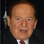 Casino mogul Sheldon Adelson.