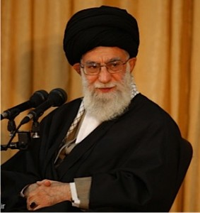 Iran's Supreme Leader Ali Khamenei. (Iranian government photo)