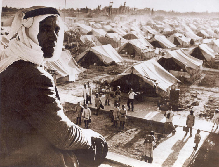 In 1948, some Palestinians, uprooted by Israel's claims to their lands, relocated to the Jaramana Refugee Camp in Damascus, Syria