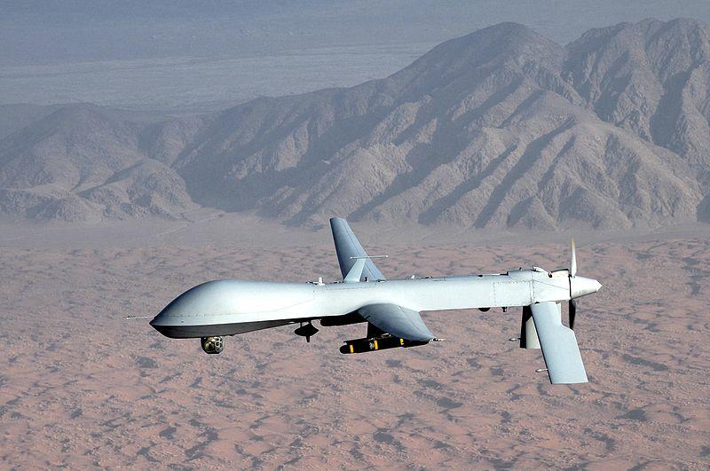 The MQ-1 Predator unmanned aircraft. (Photo credit: U.S. Air Force photo/Lt Col Leslie Pratt)