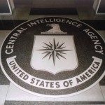 CIA seal in lobby of the spy agen