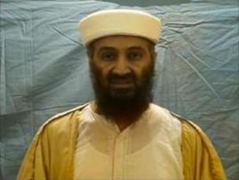 Al-Qaeda leader Osama bin Laden.