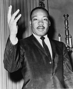 Rev. Martin Luther King Jr. in 1964.