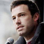 Actor/director Ben Affleck speaking at a rally for Feed America in 2009.