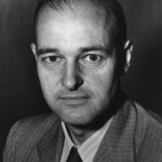 U.S. diplomat George F. Kennan who is credited with devising the strategy of deterrence against the Soviet Union after World War II.