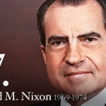Richard Nixon, the 37th President of the United States.