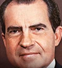 President Richard Nixon.