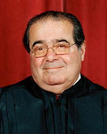 U.S. Supreme Court Justice Antonin Scalia.