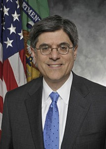 U.S. Treasury Secretary Jack Lew.